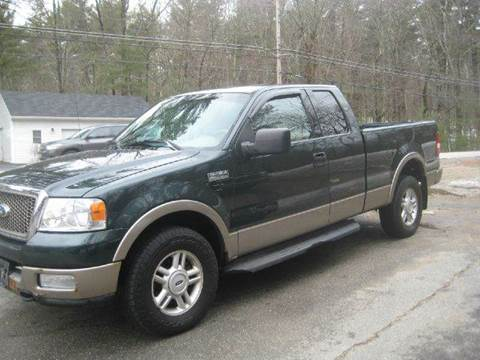 2004 Ford F-150 for sale at GRS Auto Sales and GRS Recovery in Hampstead NH