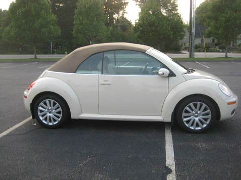 2008 Volkswagen New Beetle for sale at GRS Auto Sales and GRS Recovery in Hampstead NH
