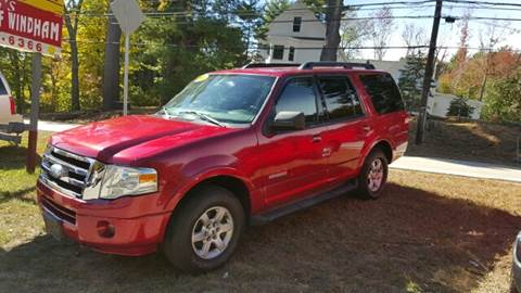 2008 Ford Expedition for sale at GRS Auto Sales and GRS Recovery in Hampstead NH