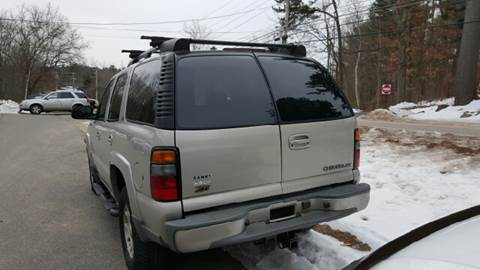 2004 Chevrolet Tahoe for sale at GRS Auto Sales and GRS Recovery in Hampstead NH