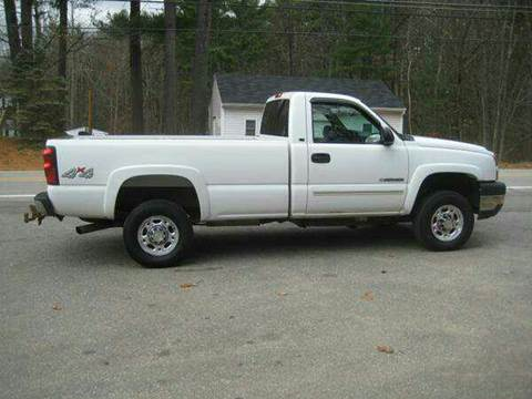 2006 Chevrolet Silverado 2500HD for sale at GRS Auto Sales and GRS Recovery in Hampstead NH