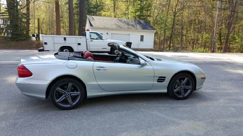 2004 Mercedes-Benz SL-Class for sale at GRS Auto Sales and GRS Recovery in Hampstead NH