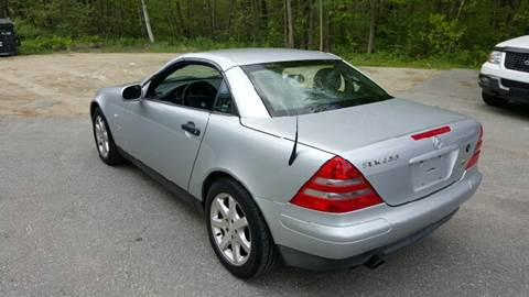 2000 Mercedes-Benz SLK for sale at GRS Auto Sales and GRS Recovery in Hampstead NH