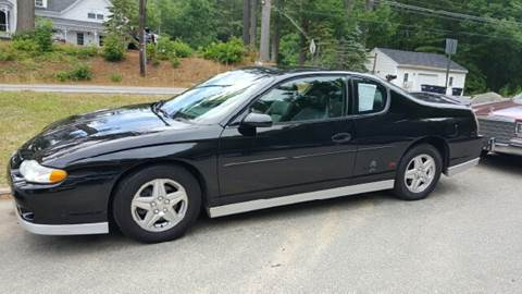 2001 Chevrolet Monte Carlo for sale at GRS Auto Sales and GRS Recovery in Hampstead NH