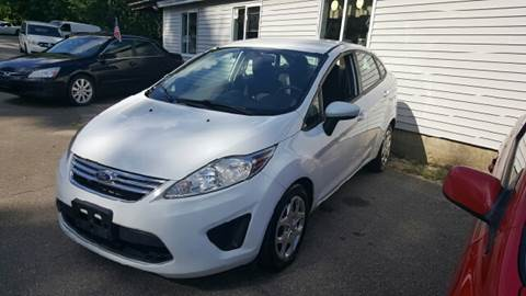 2012 Ford Fiesta for sale at GRS Auto Sales and GRS Recovery in Hampstead NH