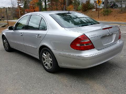 2005 Mercedes-Benz E-Class for sale at GRS Auto Sales and GRS Recovery in Hampstead NH