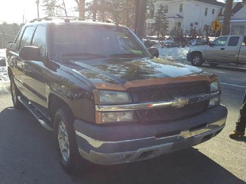 2005 Chevrolet Avalanche for sale at GRS Auto Sales and GRS Recovery in Hampstead NH