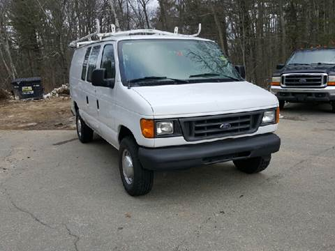 2005 Ford E-Series Cargo for sale at GRS Auto Sales and GRS Recovery in Hampstead NH