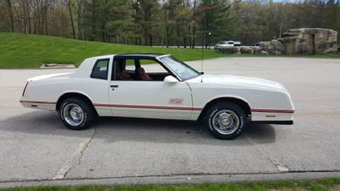 1987 Chevrolet Monte Carlo for sale at GRS Auto Sales and GRS Recovery in Hampstead NH