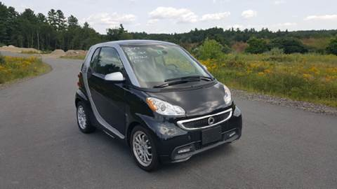 2013 Smart fortwo for sale at GRS Auto Sales and GRS Recovery in Hampstead NH