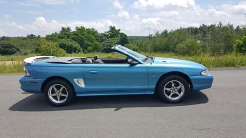 1994 Ford Mustang for sale at GRS Auto Sales and GRS Recovery in Hampstead NH