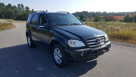 2003 Mercedes-Benz M-Class for sale at GRS Auto Sales and GRS Recovery in Hampstead NH