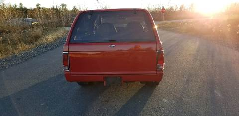 1983 Chevrolet S-10 Blazer for sale at GRS Auto Sales and GRS Recovery in Hampstead NH