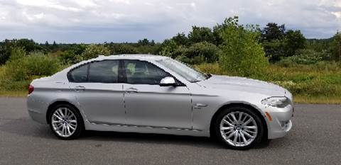2011 BMW 5 Series for sale at GRS Auto Sales and GRS Recovery in Hampstead NH