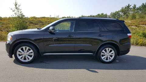 2012 Dodge Durango for sale at GRS Auto Sales and GRS Recovery in Hampstead NH