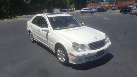 2005 Mercedes-Benz C-Class for sale at RVA Automotive Group in North Chesterfield VA