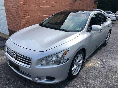 2012 Nissan Maxima for sale at RVA Automotive Group in North Chesterfield VA