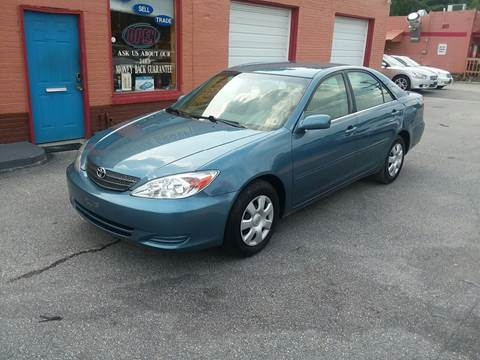 2003 Toyota Camry for sale at RVA Automotive Group in North Chesterfield VA