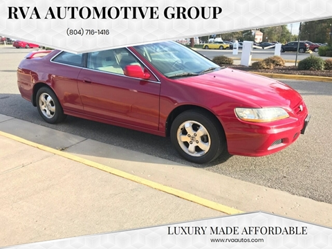 2002 Honda Accord for sale in North Chesterfield, VA