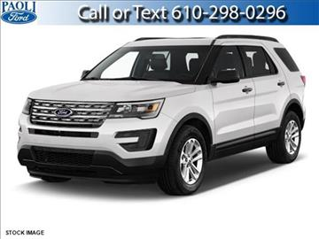 2017 Ford Explorer for sale in Paoli, PA