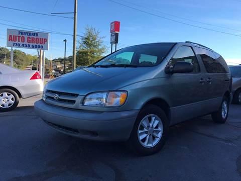 2000 Toyota Sienna for sale in Doraville, GA