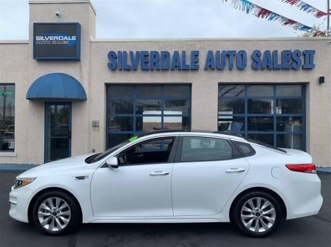 2016 Kia Optima for sale at Silverdale Auto Sales II in Sellersville PA
