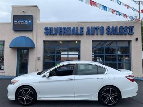 2017 Honda Accord for sale at Silverdale Auto Sales II in Sellersville PA