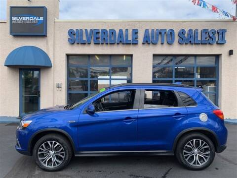2017 Mitsubishi Outlander Sport for sale at Silverdale Auto Sales II in Sellersville PA