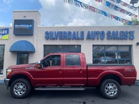 2014 Ford F-250 Super Duty for sale at Silverdale Auto Sales II in Sellersville PA