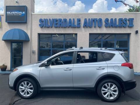 2013 Toyota RAV4 for sale at Silverdale Auto Sales II in Sellersville PA