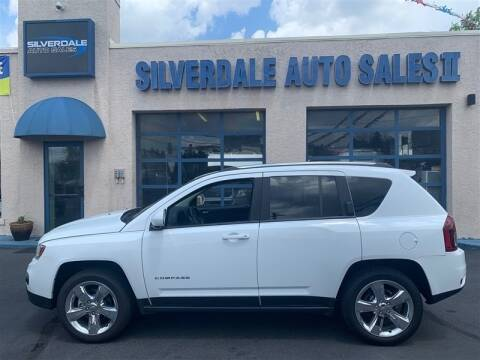 2014 Jeep Compass for sale at Silverdale Auto Sales II in Sellersville PA