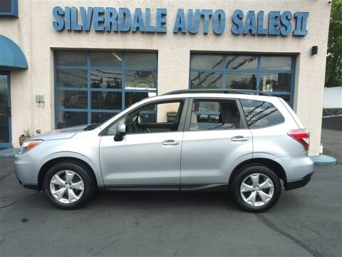 2015 Subaru Forester for sale at Silverdale Auto Sales II in Sellersville PA