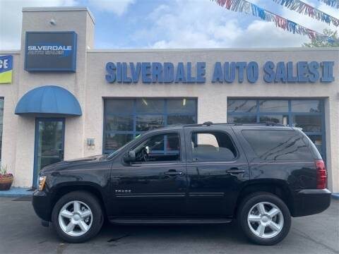 2012 Chevrolet Tahoe for sale at Silverdale Auto Sales II in Sellersville PA