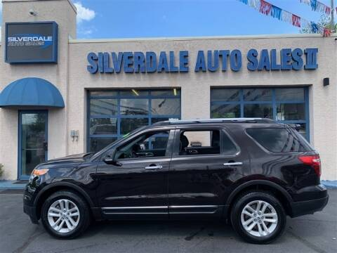 2013 Ford Explorer for sale at Silverdale Auto Sales II in Sellersville PA