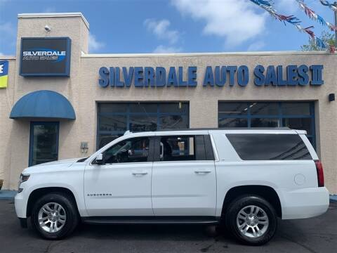 2016 Chevrolet Suburban for sale at Silverdale Auto Sales II in Sellersville PA