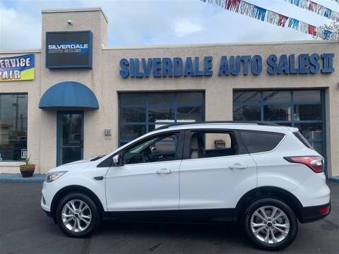 2017 Ford Escape for sale at Silverdale Auto Sales II in Sellersville PA