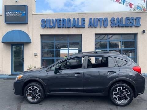 2016 Subaru Crosstrek for sale at Silverdale Auto Sales II in Sellersville PA