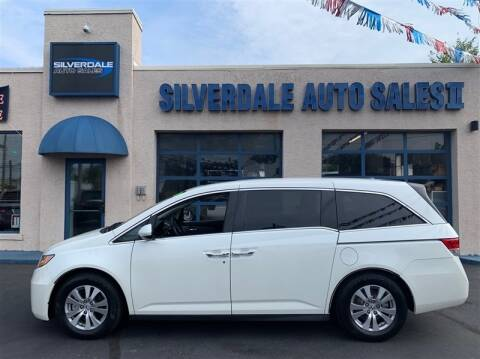 2016 Honda Odyssey for sale at Silverdale Auto Sales II in Sellersville PA