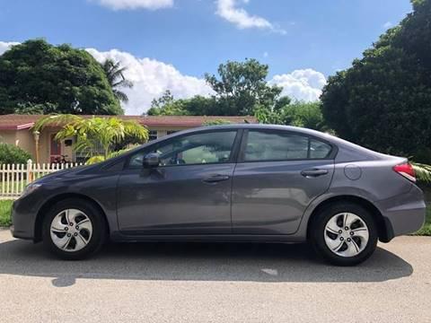 2015 Honda Civic for sale in Pompano Beach, FL