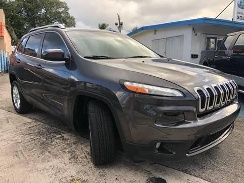 2018 Jeep Cherokee for sale in Pompano Beach, FL
