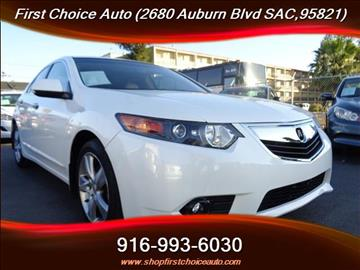 2013 Acura TSX for sale in Sacramento, CA