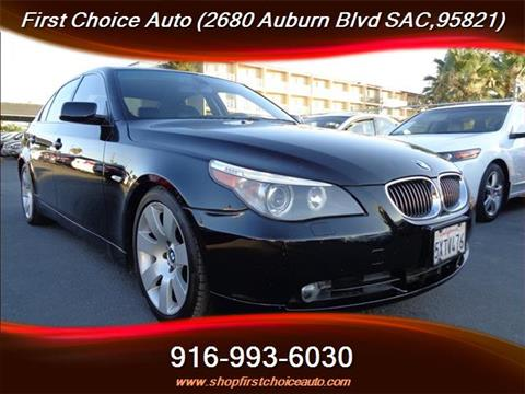 2007 BMW 5 Series for sale in Sacramento, CA