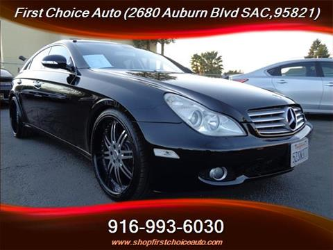2006 Mercedes-Benz CLS for sale in Sacramento, CA