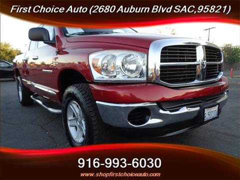 2007 Dodge Ram Pickup 1500 for sale in Sacramento, CA