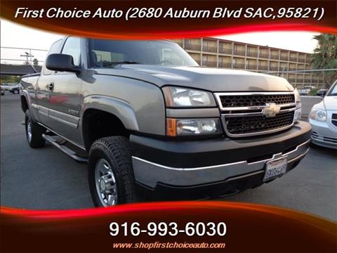 2007 Chevrolet Silverado 2500HD Classic for sale in Sacramento, CA