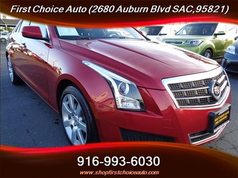 Cadillac ATS For Sale in Sacrato, CA - Carsforsale.com