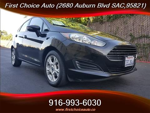 2014 Ford Fiesta for sale in Sacramento, CA