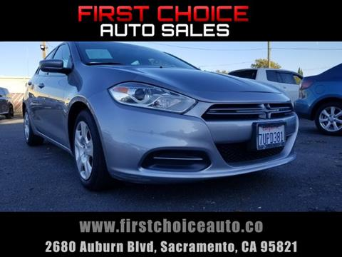 2016 Dodge Dart for sale in Sacramento, CA