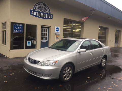 2005 Toyota Camry for sale at HUDSON ROAD AUTOMOTIVE in Stow MA