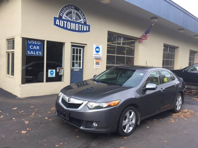 2009 Acura TSX for sale at HUDSON ROAD AUTOMOTIVE in Stow MA